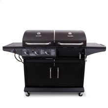 DELUXE GAS & CHARCOAL COMBO GRILL
