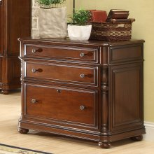 Bristol Court - Lateral File Cabinet - Cognac Cherry Finish