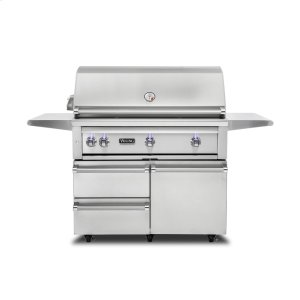 "Viking42""W. Freestanding Grill with ProSear Burner and Rotisserie, Propane Gas"