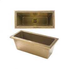 Oasis Sink - SK410 Silicon Bronze Brushed