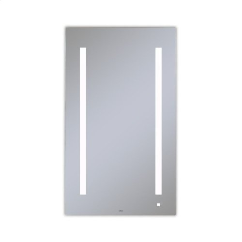 "Aio 23-1/8"" X 39-1/4"" X 1-1/2"" Lighted Mirror With Lum Lighting At 4000 Kelvin Temperature (cool Light), Dimmable and Usb Charging Ports"