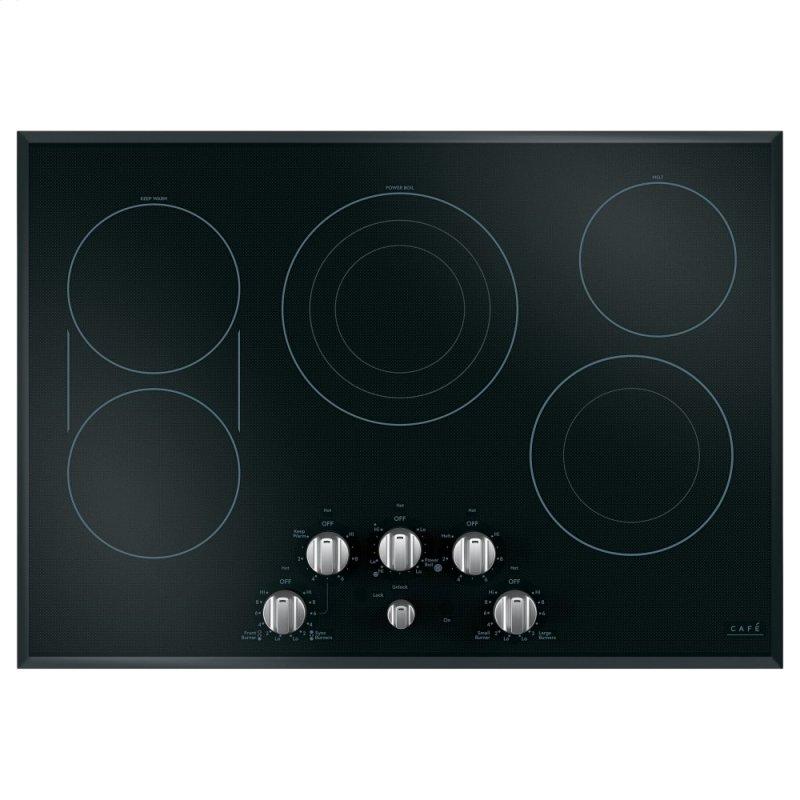 "30"" Knob-Control Electric Cooktop"