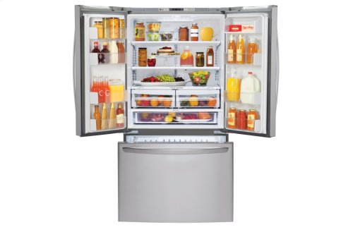 25 cu.ft. Mega Capacity 3-Door French Door Refrigerator