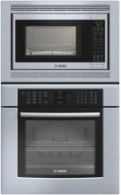 "800 Series 30"" Combination Wall Oven HBL8750UC - Stainless steel Product Image"