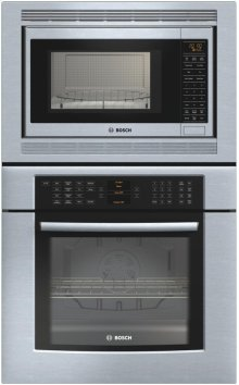 "800 Series 30"" Combination Wall Oven HBL8750UC - Stainless steel"