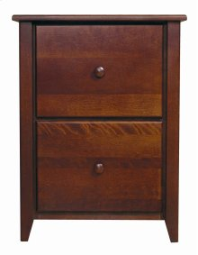 Home Office Letter Filing Cabinet With Two File Drawers