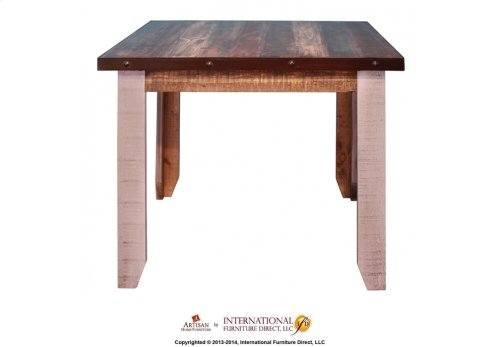 42in Counter Height Dining Table