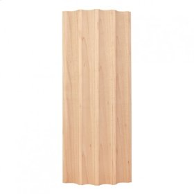 """3-3/4"""" X 1"""" Curved Fluted Moulding Species: Hard Maple"""