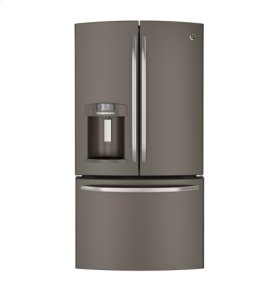 **CLOSEOUT MODEL**  GE® ENERGY STAR® 28.6 Cu. Ft. French-Door Ice & Water Refrigerator