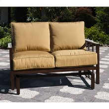 Gamble Creek Glider Loveseat