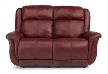 Brookings Leather Power Reclining Loveseat