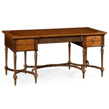 Napoleon III Style Writing Table with Fine Inlay