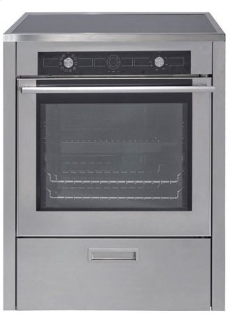 "30"" (76cm) Stainless Steel Induction Range"