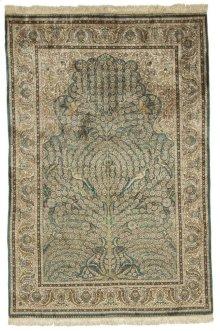 Persian Classics Hand Knotted Medium Rectangle Rug