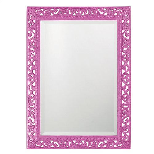 Bristol Mirror - Glossy Hot Pink