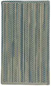 Fusion Blue Taupe Braided Rugs