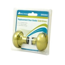 Replacement Door knobs - Polished Brass