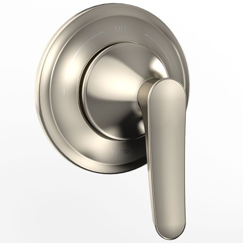 Wyeth Two-Way Diverter Trimwith Off - Brushed Nickel
