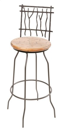 Sassafras Iron Bar Stool