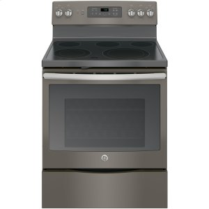 """GE®30"""" Free-Standing Electric Convection Range"""