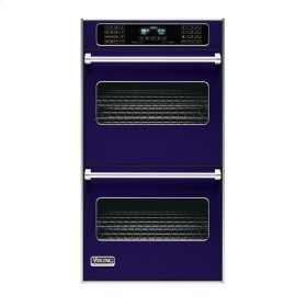 "Cobalt Blue 27"" Double Electric Touch Control Premiere Oven - VEDO (27"" Wide Double Electric Touch Control Premiere Oven)"