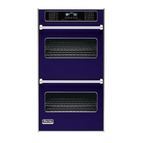 "Cobalt Blue 27"" Double Electric Touch Control Premiere Oven - VEDO (27"" Wide Double Electric Touch Control Premiere Oven)"