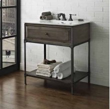 "Toledo 30"" Open Shelf Vanity"