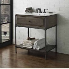 """Toledo 30"""" Open Shelf Vanity"""
