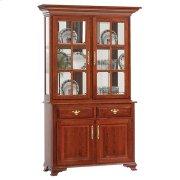 2-Door Queen Victoria Hutch & Buffet Product Image