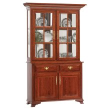 2-Door Queen Victoria Hutch & Buffet