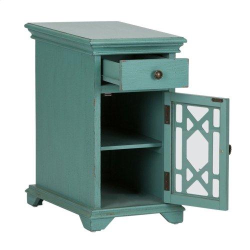 1 Drawer 1 Door Accent Cabinet