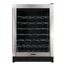 50-Bottle Wine Cooler in Stainless Steel