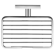 Chrome Karree Soap Basket