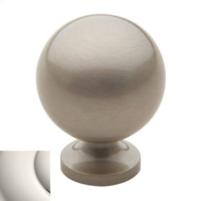 Polished Nickel Spherical Knob