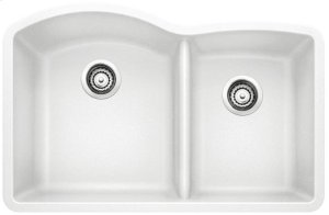 Blanco Diamond 1-3/4 Bowl With Low-divide - White