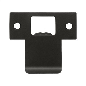 """Extended T-Strike (2-3/4"""" x 2-1/2"""") - Oil-rubbed Bronze"""