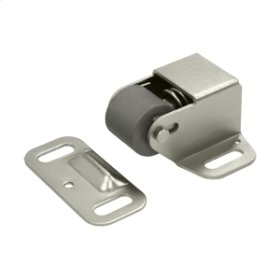 Roller Catch Surface Mounted - Brushed Nickel