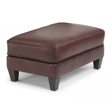 Westside Leather Cocktail Ottoman