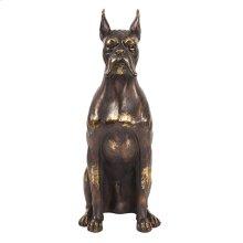 Bronze Guard Dog Sculpture