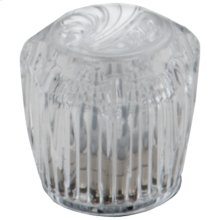 null Clear Knob Handle Set