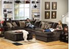 Armless Sofa - Chocolate Product Image
