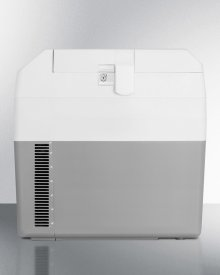 Portable 12v/24v Cooler With Lock Capable of Operating At -18 C or Standard Refrigerator Temperatures
