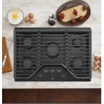 """(tm) 30"""" Built-In Gas Cooktop With 5 Burners And An Optional Extra-Large Cast Iron Griddle"""