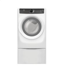 Front Load Perfect Steam Electric Dryer with 7 cycles - 8.0 Cu. Ft. [OPEN BOX]