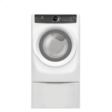 Red Hot Buy- Be Happy! Front Load Perfect Steam Electric Dryer with 7 cycles - 8.0 Cu. Ft.