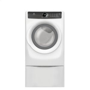 ELECTROLUXFront Load Perfect Steam(TM) Electric Dryer with 7 cycles - 8.0 Cu. Ft.
