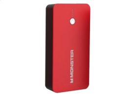 Monster® Power Bank - 5000 mAh / Red