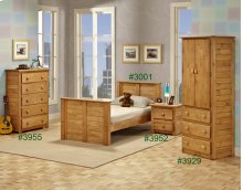 Wardrobe w/Three Drawers