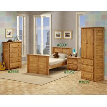 Wardrobe w/Three Drawers