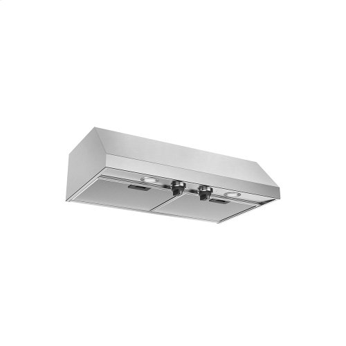 "30"" Pro-Style, Under Cabinet Hood, Stainless Steel"